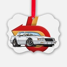 BUICK_GN_white Ornament