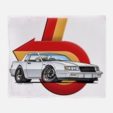 BUICK_GN_white Throw Blanket