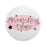 Accountant gifts Round Ornaments