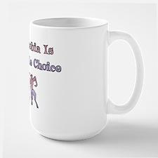 Homophobia Lifestyle Choice Large Mug