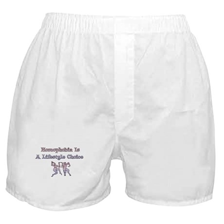 Homophobia Lifestyle Choice Boxer Shorts