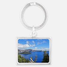 Crater Lake National Park Landscape Keychain