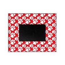 Dog Paws Red Picture Frame