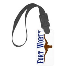 Fort Worth Texas Flag Luggage Tag