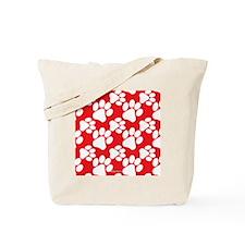 Cute Dog Paws Tote Bag