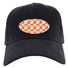 Dog Paws Clemson Orange Baseball Hat