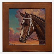 Rachel Alexandra Framed Tile