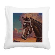 Rachel Alexandra Square Canvas Pillow