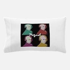 Four Mozart Portraits Pillow Case