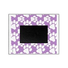 Dog Paws Light Purple-Small Picture Frame