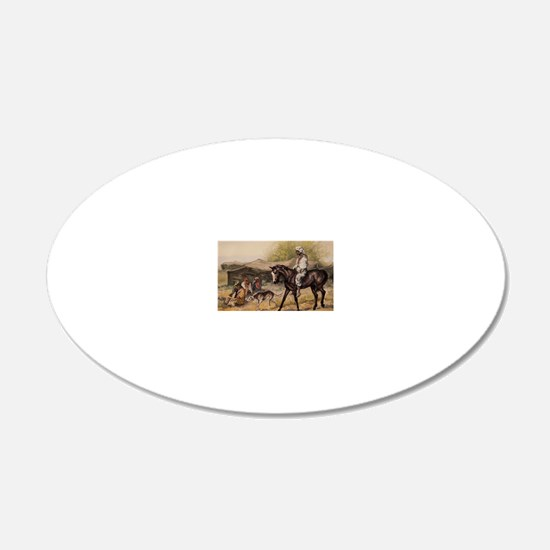 Bedouin Rider Wall Decal