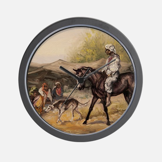 Bedouin Rider Wall Clock