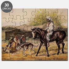 Bedouin Rider Puzzle