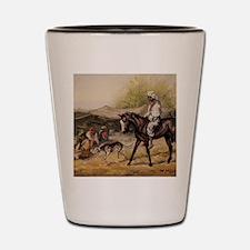 Bedouin Rider Shot Glass