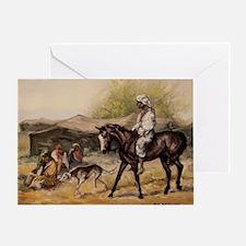 Bedouin Rider Greeting Card