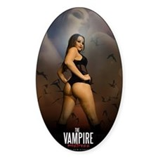 The Vampire Mistress Poster Decal