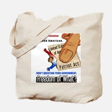 Freedom Political Tote Bag
