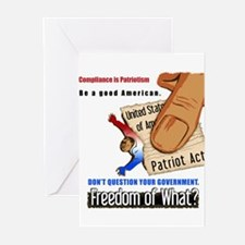 Freedom Political Greeting Cards (10 pk)