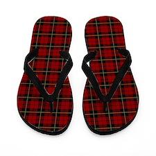 Wallace Clan Scottish Tartan Flip Flops