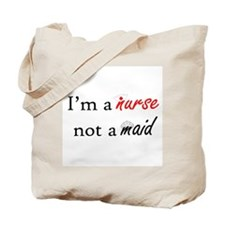 Not A Maid Tote Bag