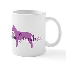 Staffie Grandma Mug