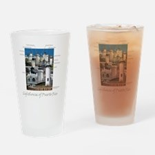 Lighthouses of Puerto Rico Drinking Glass