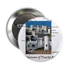 """Lighthouses of Puerto Rico 2.25"""" Button"""