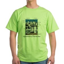 Lighthouses of Puerto Rico T-Shirt