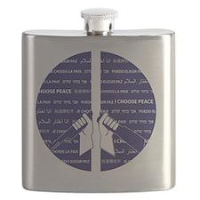 I Choose Peace Flask
