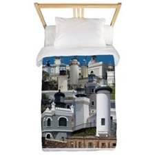 Lighthouses of Puerto Rico Twin Duvet