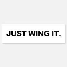 Paragliding & Powered Paragli Bumper Car Car Sticker