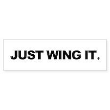 Paragliding & Powered Paragli Bumper Car Sticker