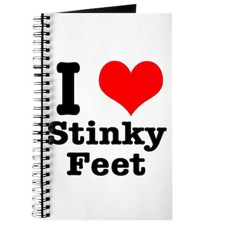 I Heart (Love) Stinky Feet Journal