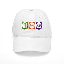 Eat Sleep HVAC Baseball Cap