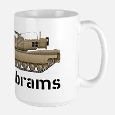 M1A1 Abrams MBT Profile View Mug