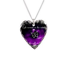 Through the eye of lupus Necklace