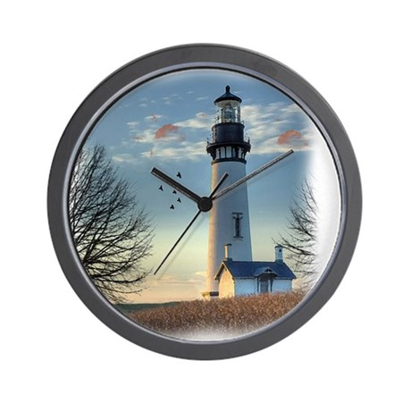 Sunset Lighthouse Wall Clock By Admin Cp111024404