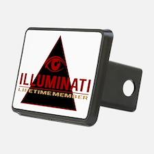 Illuminati Member T-shirt Hitch Cover