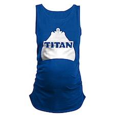 Titan White Maternity Tank Top