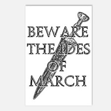 Beware The Ides Of March Postcards (Package of 8)