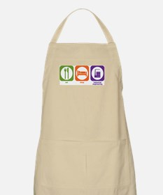 Eat Sleep Industrial Engineering BBQ Apron