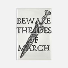 Beware The Ides Of March Rectangle Magnet