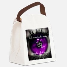 Through the eye of Lupus Canvas Lunch Bag