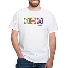 Eat Sleep Industrial Engineering Shirt