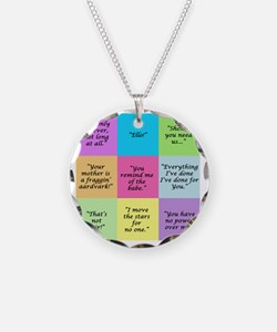 Labyrinth Quotes Necklace