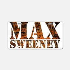 L Word Max Sweeney Quotes Aluminum License Plate
