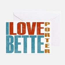 Bette Porter L Word Greeting Card