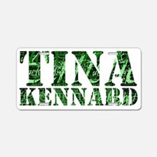 L Word Tina Kennard Quotes Aluminum License Plate