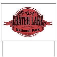 crater lake 2 Yard Sign