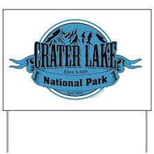 crater lake 1 Yard Sign